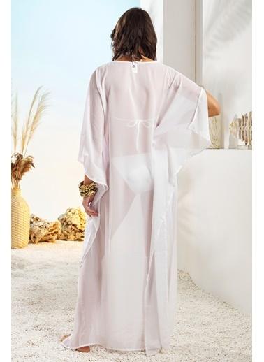 Pierre Cardin Plaj Elbisesi Beyaz